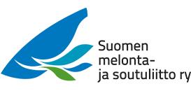 Suomen melonta- ja soutuliitto ry logo